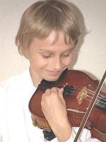 Hains Tooming oma viiuliga.  Foto: erakogust - pics/2009/03/23089_1_t.jpg