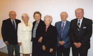 Hiljutiste kuude sünnipäevalapsed: vas. Heino Sepp, Ene Tamm, Asta Kaups, Ellen Oja, Johannes Vihma ja Leonid Tenno Seim. Foto: P.R.  - pics/2009/03/23184_1_t.jpg