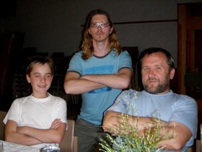 Kolm kanget: Heino Ollin, Matti Lepik, Üllar Ollin. - pics/2009/04/23472_19_t.jpg
