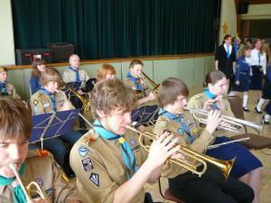 3. Skautide-gaidide orkester.  Foto: A. Raudsepp         - pics/2009/05/23602_3_t.jpg