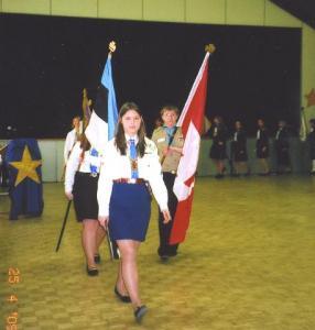 4.    Tänavuse Jüripäeva paraadi juht gdj Heli Vanaselja.  Foto: EE     - pics/2009/05/23602_4_t.jpg
