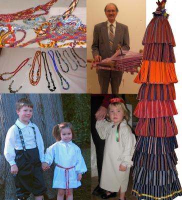 Tänud Viljandimaa tekstiilkunstnikule Anu Rauale loa eest kasutada tema originaalset emapuu loomingut Triipude Lood näitusel. Fotod: Maaja Matsoo, Merike Kalm - pics/2009/05/23749_1_t.jpg