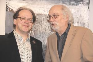 Jaan Undusk ja Ulrich Kronauer  kaks meest, kes on leidnud ühise keele.  Foto: Werner Siebert - pics/2009/05/23873_1_t.jpg