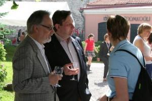 Endine Ottawa elanik Jüri Ruus ja Erakond Eestimaa Roheliste esimene eestkõneleja Marek Strandberg. - pics/2009/07/24311_9_t.jpg