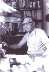 Ameerika Hääle Eesti osakonna töötaja Jaan Kitzberg 1978. aastal.  Foto: erakogust   - pics/2009/07/24511_1_t.jpg