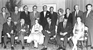 Ameerika Hääle Soome ja Balti osakondade töötajad koos New Yorgis 1952.a.  Foto: Erakogust   - pics/2009/08/24758_1_t.jpg