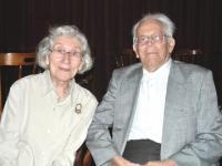 Sünnipäevalaps Irene Loosberg ja Hannes Oja. Foto: Y.-M. Saar     - pics/2009/08/24928_1_t.jpg