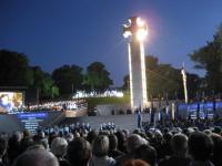 Hetk Vabadussõja võidusamba avamiselt Tallinnas. Foto: P. Loosberg - pics/2009/08/24928_2_t.jpg