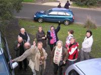 Melbourne'i eestlased võõrustamas keelepäeva külalisi. Foto: Annika Kilgi - pics/2009/08/24935_1_t.jpg