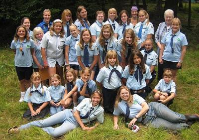 Põhjala Tütred laagri avamisel. Foto: K. Mirka     - pics/2009/08/25017_1_t.jpg