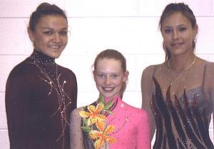 Pildil (vas.): Stefani Viinamäe, Teija Korjus ja Stephanie Koop.   Foto: erakogust  - pics/2009/09/25156_1_t.jpg