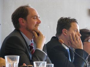 Andres Kasekamp ja Lauri Mälksoo. - pics/2009/09/25295_1_t.jpg