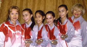 Kuldmedali võitnud Kanada juunioride võistkond Kalev Estienne'ist koos E.Koopi ja S. Youkovaga.  - pics/2009/11/26214_1_t.jpg