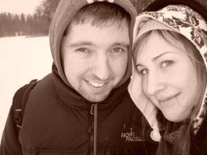 Otepääle jõudsid Jaan Hess ja Mai-Liis Tammemägi möödunud talvel Looduse Omnibussiga, mis viib huvilisi väikese tasu eest päevareisidele looduslikult huvitavatesse paikadesse koos teadliku giidiga. - pics/2009/12/26422_6_t.jpg