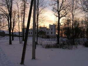 Sõmerpalu mõis talvisel õhtul. Foto: Viido Polikarpus - pics/2009/12/26505_1_t.jpg