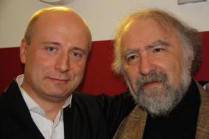 Paavo Järvi ja Radu Lupu.  Foto: A. Siebert - pics/2009/12/26679_1_t.jpg