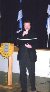 """Mette Männama ja Kariina Järve esinesid solistidena R. Eespere laulu """"Ärkamise aeg"""" esitamisel. Foto: EE   - pics/2010/02/27334_5_t.jpg"""
