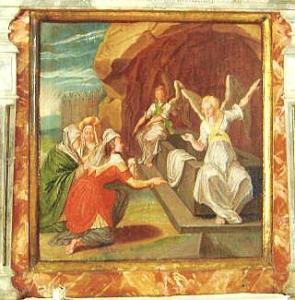 """Naised Jeesuse haual""  Tuhala kiriku altarimaal. Foto: E - pics/2010/03/27646_1_t.jpg"