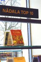 """Nii tähelepanuväärsel kohal oli Ene Timmuski raamat """"Minu Kanada"""" mõni aeg tagasi Tallinna ühe suurema raamatukaupluse """"Apollo"""" vaateaknal, olles kõige loetavam raamat ilmumise järel.  Foto: Ilme Lillevars     - pics/2010/04/27816_2_t.jpg"""