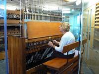 Astrid Bowler mängimas Canberra Carillontoweri pillil. Foto erakogust       - pics/2010/10/29952_3_t.jpg