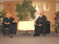 Luuleprogrammi tähed Killi Mirka ja Eerik Purje. Foto: E. Oja - pics/2011/01/31096_2_t.jpg