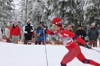 Suusatehnika musternäide! Otepääl 22. ja 23. jaanuaril peetud maailmakarika (MK) etapi naiste 10 km klassikasõidu võitis suur suusatäht, Vancouveri olümpial 3 kulda võitnud norralane Marit Bjørgen. - pics/2011/01/31191_1_t.jpg