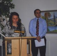 Noortetööst andsid ülevaate Alexandra ja Jonathan Wilbiks. Foto: Ilme Lillevars   - pics/2011/02/31327_3_t.jpg