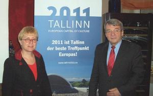 Reet Weidebaum, Hartmut Lorek (Karlsruhe EL fraktsiooni esimees) - pics/2011/03/31641_1_t.jpg