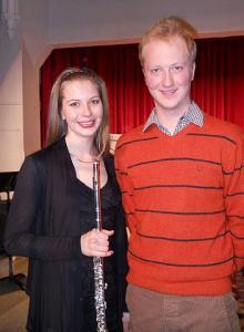 Kaili ja Riho Maimets kontserdi vaheajal. Foto: V. Külvet - pics/2011/03/31892_1_t.jpg