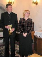 Foto:  Tallinna Piiskopliku Toomkoguduse õpetaja, konsistooriumi kantsler Urmas Viilma ja pr Egle Viilma külastavad peapiiskopi delegatsiooniga Ameerikat. F.T.Pikkur - pics/2011/04/32147_1_t.jpg