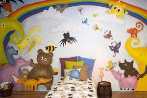 Võistlusboksi töö  – Reet Helisabeth Karmi kujundatud lastetuba, mille eest ta pälvis Mustika Nutika kujundaja konkursil auhinna  2006. a.  - pics/2011/07/32910_4_t.jpg