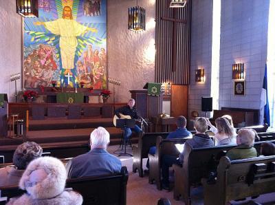 Joel Reinaru esinemas Lakewoodi Eesti kirikus. - pics/2012/02/35105_003_t.jpg