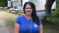 Seedrioru laagri esimese nädala juhataja, Laine Nõmmik-Flynn. Foto: M. Kiik - pics/2012/07/36959_001_t.jpg