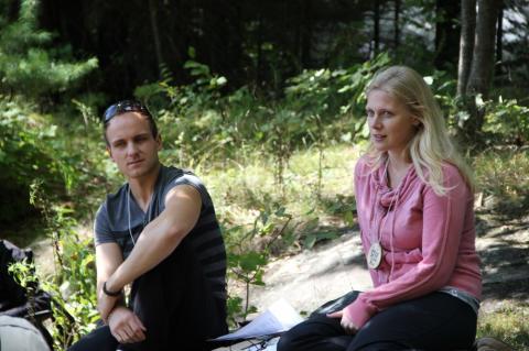 Hans Soots ja Tiina Hiis jagasid muljeid Kääriku Metsaülikoolist - pics/2012/08/37239_012_t.jpg