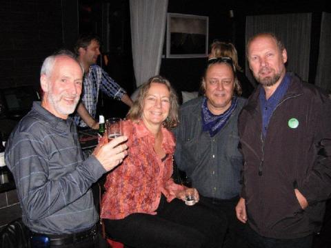 Alar Aedma (third from left) and friends.   Photo:  Jaak Järve. - pics/2012/12/38297_001_t.jpg