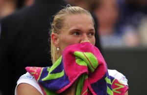 Kaia Kanepi - Sabine Lisicki (Wimbledon) Foto: GLYN KIRK, AFP  - pics/2013/07/39775_001_t.jpg