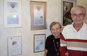 Inna ja Aadu Randpalu annetuste eest Tallinna linnalt ja lastehaiglalt saadud tänukirjadega Erakogu - pics/2013/09/40216_001.jpg