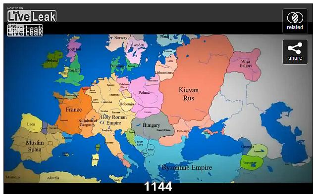 Abkebab S Map Of Europe 1000 Ad To Present With Timeline Estonian