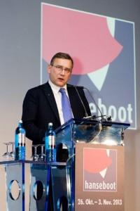 majandusminister Juhan Parts hansebooti messil.  - pics/2013/12/40863_001_t.jpg