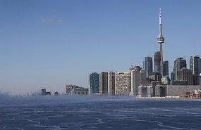 Pildil riigi üks suurim linn Toronto. Foto: AP/SCANPIX - pics/2014/01/41132_001.jpg