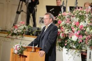 President emadepäeva aktusel Foto: Ilmar Saabas  - pics/2014/05/42154_001_t.jpg