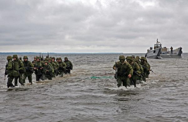 Estonian soldiers during Baltic Operations (BALTOPS) 2010 training exercise. Photo by Sgt. Rocco DeFilippis - pics/2014/12/43925_001_t.jpg