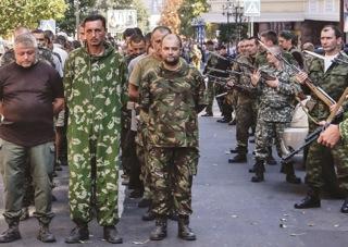 Ukraina sõjavangid Euromaidan Press August 2014. - pics/2015/02/44427_006.jpg