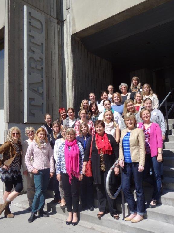 Estonian School teachers from the US participated in the North American Estonian School Teachers Conference (Põhja-Ameerika Eesti Koolide õpetajate õppepäevad). Foto: K. Kiilaspea - pics/2015/05/44869_001.jpg