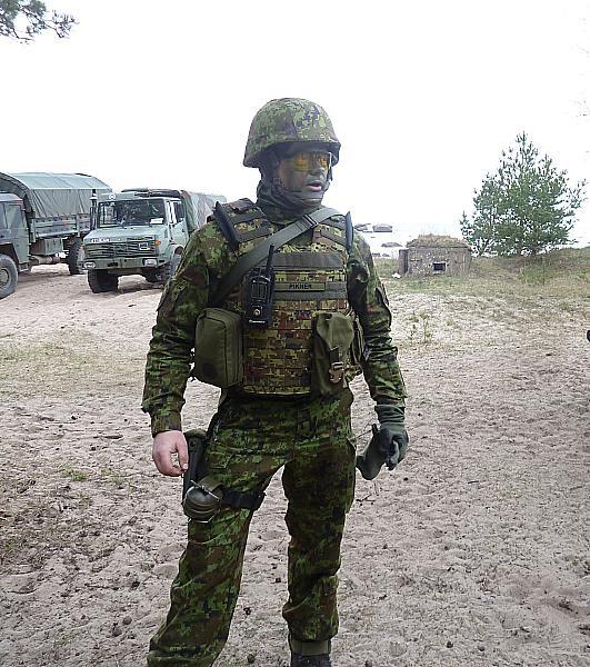 1. jalaväebrigaadi õhutõrjepataljoni ülem major Priit Pikner. - pics/2015/05/44908_007_t.jpg