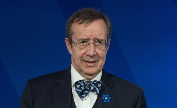 Estonian President Toomas Ilves. (Photo: NICHOLAS KAMM/AFP/Getty Images) - pics/2016/06/47755_001.jpg