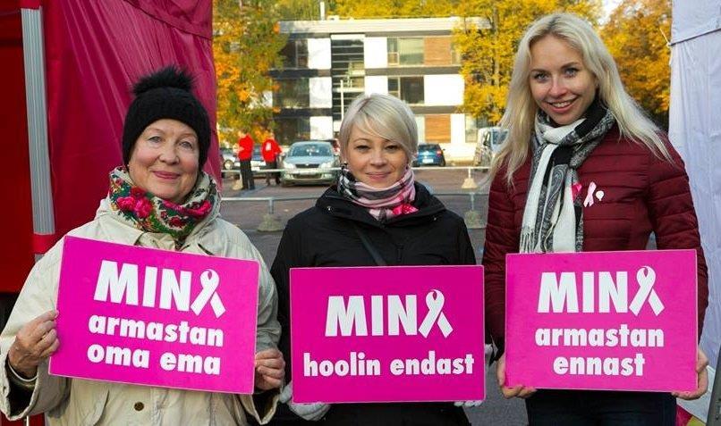 a8b90644d46 Ülemaailmsel rinnavähinädalal toimus 13. oktoobril Kadrioru pargis Eesti  esimene Roosa Lindi jooks, kus osales üle poole tuhande inimese.