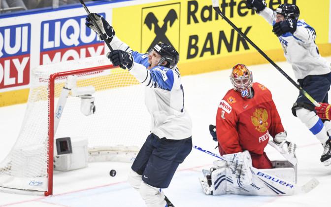 Soome alistas üllatuslikult Venemaa ja jõudis finaali ERR