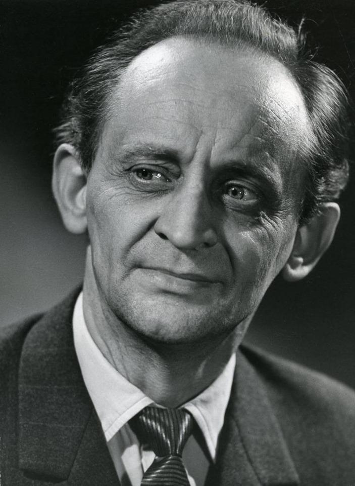 Geniaalne näitleja Jüri Järvet 18. juuni 1919 – 5. juuli 1995 FB