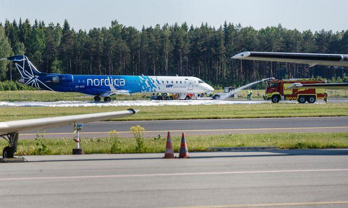 Foto: Nordica lennul pidid reisijad kasutama hapnikumaske PM